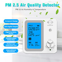 Portable PM2.5 Air Quality LED Digital Detector Indoor/Outdoor Air Quality Tester