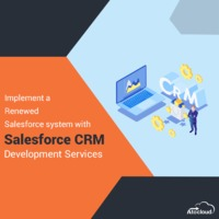 Experience the smooth #Salesforceimplementation, development and customization with Atocloud's #Salesforcedevelopmentservices Contact now - https://www.atocloud.com/our-services/salesforce-development
