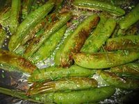 Make and share this Roasted Sugar Snap Peas recipe from Genius Kitchen.