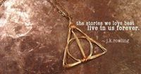 The Deathly Hallows and it's the truth...
