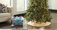 Holiday decorating begins with the Christmas tree. We have full sized trees to be the centerpiece of your holiday home, or smaller trees to add holiday cheer to a table top or to your front porch. Take a look at our wide selection, and pick out the Christ...