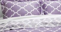 Mimosa Reversible Bedding - Orchid from Z Gallerie