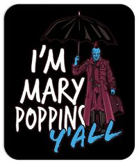 Mary Poppins Mouse Pad $9.99 https://www.nurdtyme.com