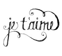 <3 I love you....those 3 little words that make your heart soar..... (sound so pretty in French!!)