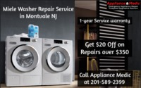Get Miele Washer Repair Service in Montvale NJ with Appliance Medic. We give our services in the whole Bergen County of NJ. We have experienced and factory-trained servicemen with more than 20 years of experience. Call us or visit our website to schedule ...