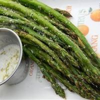 Grilled Parmesan Asparagus by allrecipes:
