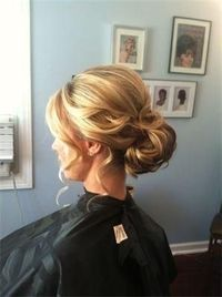 Updo without hanging bits http://curllsy.com/