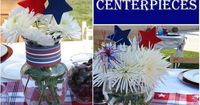 I recently hosted a patriotic patio party, and with July 4th right around the corner, I hope to inspire you to get all red-white-and-blue too! From my party pre