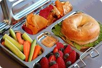 A stainless-steel eco-friendly lunch kit for kids.