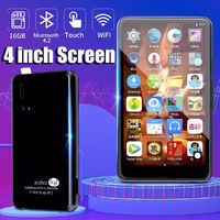 Mahdi M90 4-inch IPS HD Android 6.0 bluetooth Wifi 16GB MP3 MP4 MP5 MP6 Music Player
