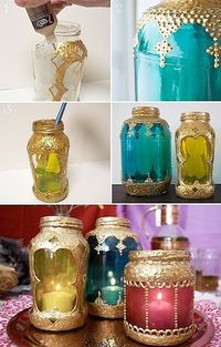 DIY Moroccan Style Laterns