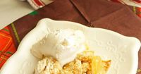 This Apple Cobbler Dessert is such a delicious and easy dessert. It will become a family favorite after the first bite. Serve it warm with ice cream.