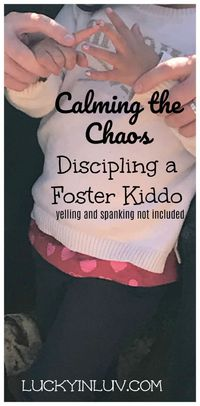 Need strategies to help you discipline and guide your foster kiddo into making better choices and calm their chaos.... read on.