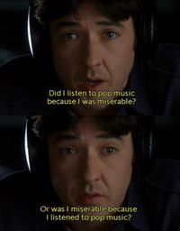 high fidelity, pop culture and nostalgia.