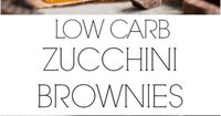 Low Carb Zucchini Brownies! The ultimate Low Carb indulgence suitable for *LCHF and *lowgi diets! On http://cafedelites.com