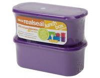"Realseal'""' Lunchbox, 300 ml, set of 2"