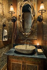 YES< finally something Seth can do for me with his thousands of shed antlers....love it! Rustic elegance! LOVE it!!