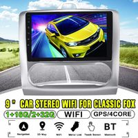 9Inch for Android 8.1 Car MP5 Player Quad Core 2DIN Touch Screen Stereo GPS WIFI AM For Classic Fox