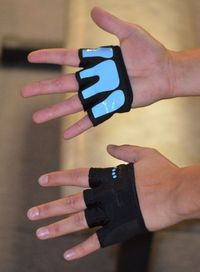 Fit Four Gripper Gloves | Workout Gloves for CrossFit Athletes: Sports & Outdoors