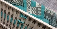 My favorite so far,,,,,Baby Bedding Cot Set Crib Bedding by BeautifulBebeDesigns on Etsy, $275.00