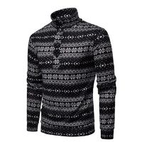 CHRISTMAS SNOWFLAKE MEN'S SWEATER PULLOVER
