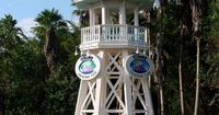Walt Disney World Lifeguard Tower - old Disney Vacation Club DVC logo.