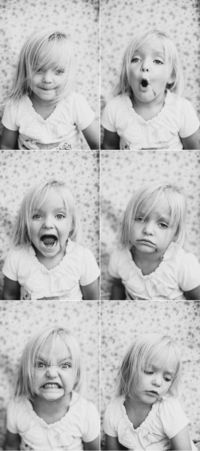 Children's Portraits // Photographing Genuine Expression -- I LOVED these