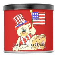Patriotic Bear With Flag Lemonade Drink Mix