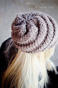 Sale 10 Off Hat Knitting Pattern PDF for The Swirl by pixiebell, $4.50