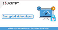 By the uses of Encrypted video player, you can prevent the lectures videos by unauthorized downloads and uses. The encrypted video player is developed by Edukrypt in India. Know more details Call: +91-+91- 885-128-6001 or Visit https://www.edukrypt.com/