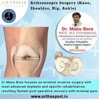 Dr Manu Bora focuses on minimal invasive surgery with most advanced implants and specific rehabilitation, resulting fastest post operative recovery with minimal pain https://www.orthosport.in/