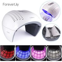 �Ÿ˜�Round Foldable 4 Color PDT LED Photon Light Therapy Facial Mask Skin Rejuvenation Acne Remover Anti Wrinkle Beauty Equipment�Ÿ˜� $131.99