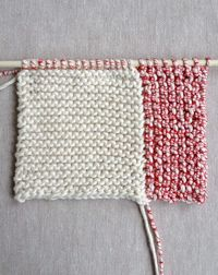 Whit's Knits: New Log Cabin Washcloths - The Purl Bee