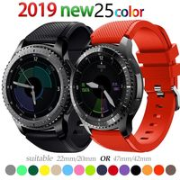 22mm watch band For Galaxy watch 46mm 42mm Samsung gear S3 $9.99