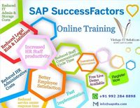 Vintage IT Solution offering SAP SuccessFactors Online Training in major cities including Hyderabad, Bangalore, Mumbai, Chennai and Pune.With complete Online Training SAPVITS providing SAP Successfactors Training Study Material. For getting more informati...