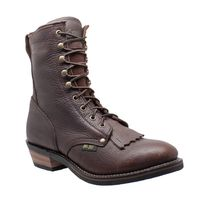 Adtec Mens 9 Inch Chestnut Western Packer Boots Item AT-1173 $113.99