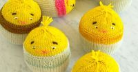 Knit Chick-in-an-Egg, perfect for spring