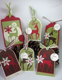 More cute Christmas gift tags
