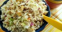 Top Ramen Salad aka Asian Coleslaw...I make this about 4x year...always forget the recipe. Great for potlucks!