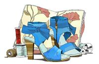 Illustrated Anthro Shoes