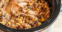 """Recipe: Slow Cooker Chicken Burrito Bowls �€"""" Recipes from The Kitchn 