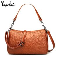 Women's Bag Leather Crossbody Bags For Women Messenger Bags Female Ladies $31.80