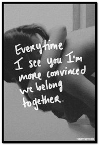 Everytime I see you