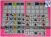 Color Sorting Boards Autism from Creative Learning 4 Kidz Autism Resources on TeachersNotebook.com - (4 pages) - Color Sorting Boards Autism