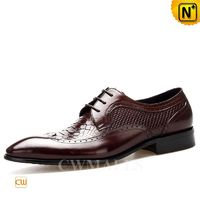 CWMALLS® Embossed Leather Dress Oxfords CW716025