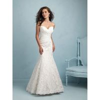 Ivory Allure Bridals 9210 Allure Bridal - Rich Your Wedding Day