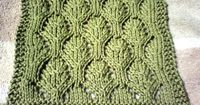 Dishcloth from August 2008 Yahoo Monthly Knit-A-Long