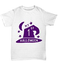 25% off Sale My 1st halloween halloween light unisex t-shirt $22.95
