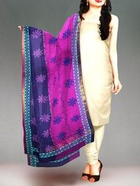Buy online trendy pure mangalagiri cotton dupatta at unnatisilks.com