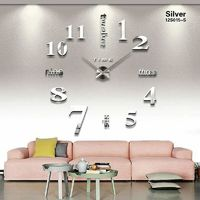 Big Size Wall Sticker DIY Wall Clock $21.99